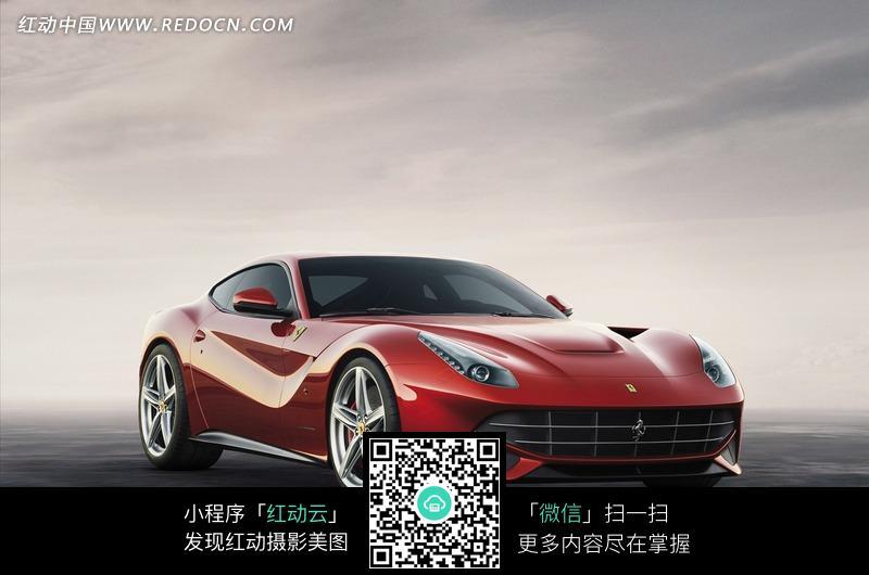 法拉利红色跑车图片图片 高清图片