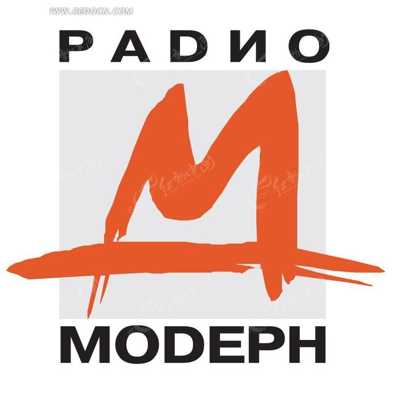 m字母 logo设计矢量图