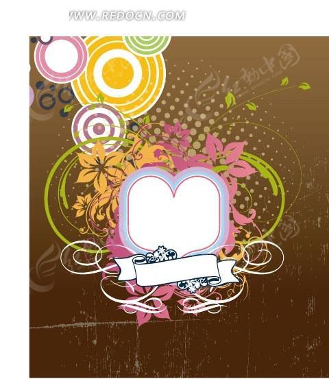 手绘插画海报背景素材CDR免费下载 编号585619 红动网