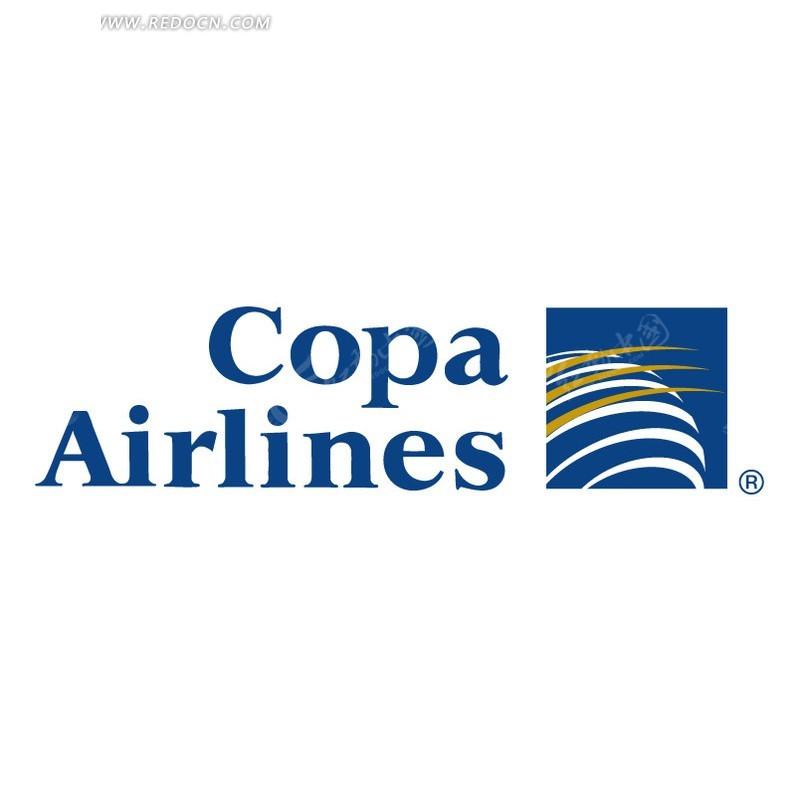 巴拿马国际航空公司标志设计矢量素材