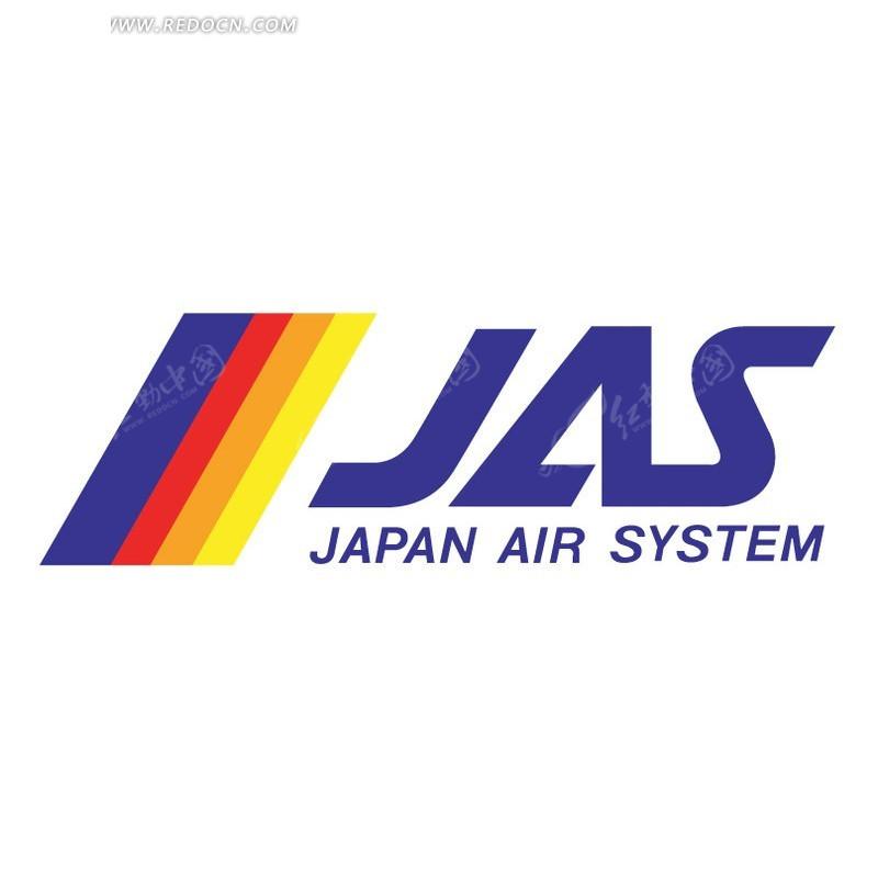 日本航空公司logo标志设计图片
