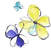 鼠绘个性花纹简笔画