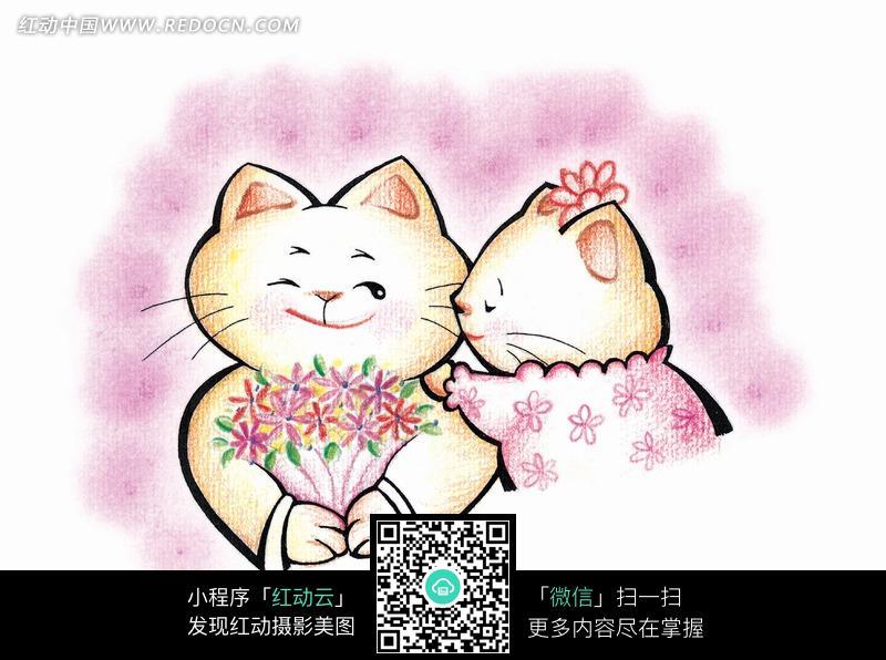 可爱小猫卡通图片