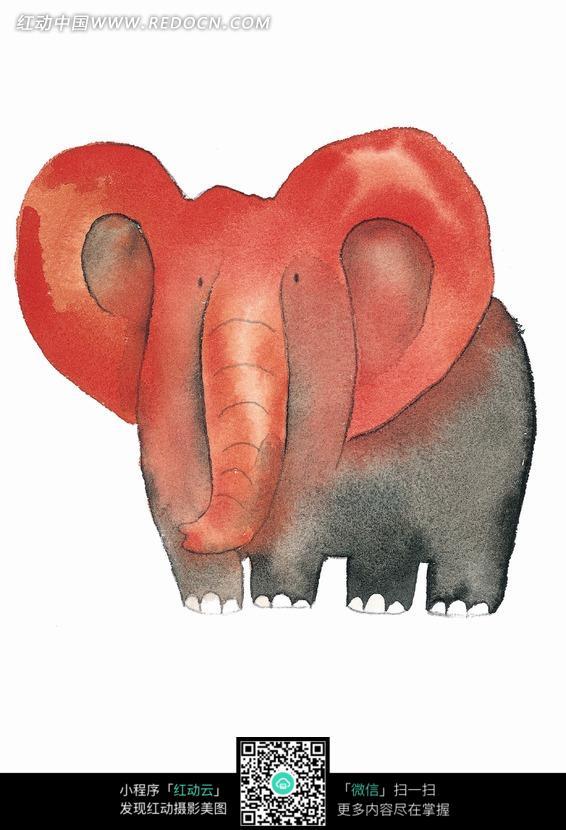 心形的大象耳朵