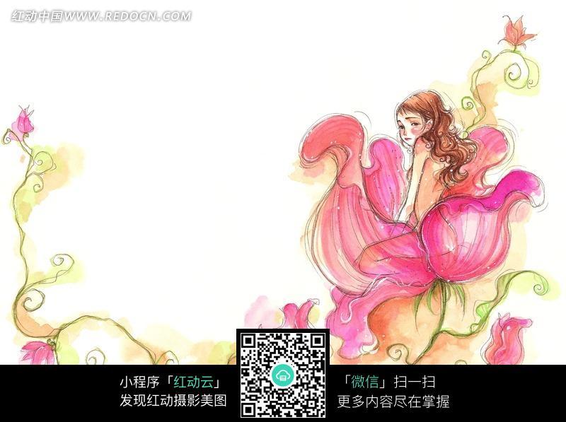鲜花 花仙子