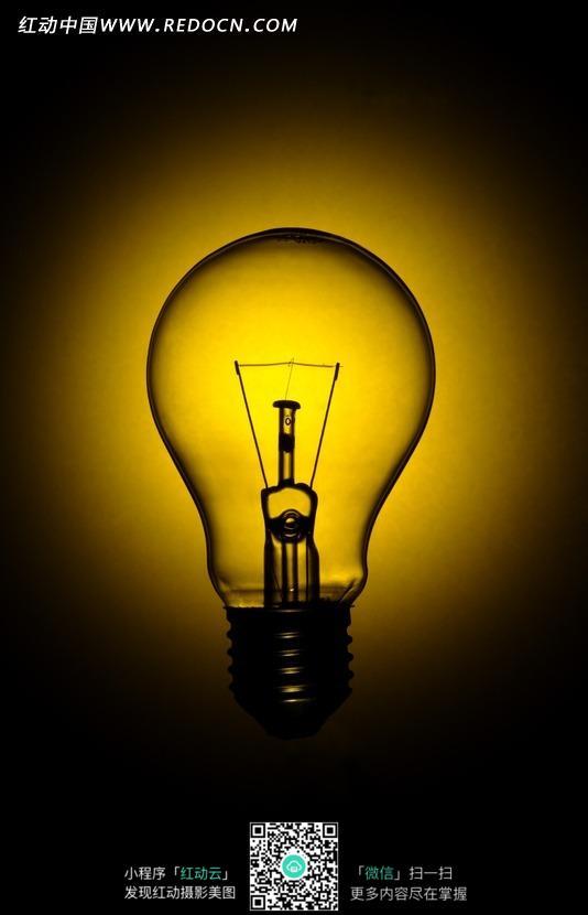 灯泡简笔画; 灯泡发光图片相关图片下载