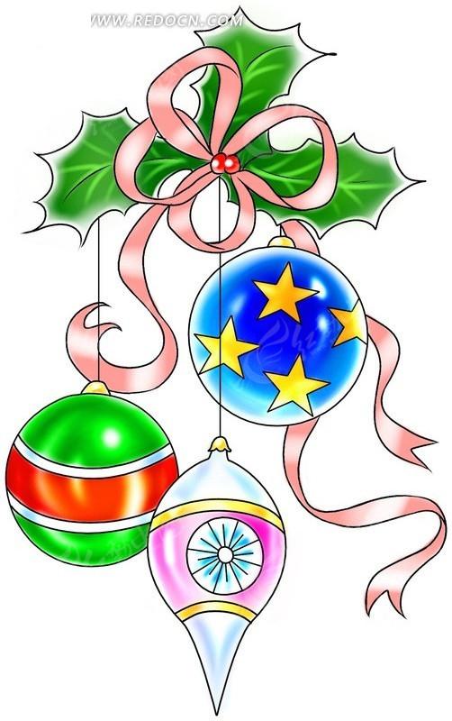 漂亮的饰物 圣诞节