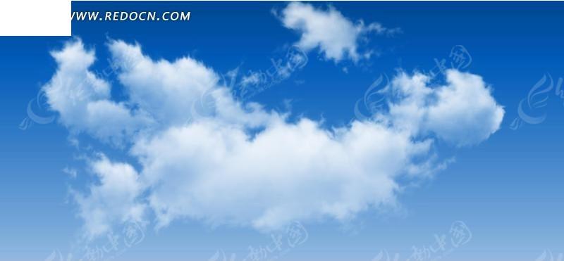 蓝天白云摄影图片素材