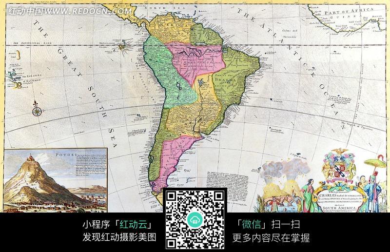 老地图 欧式风格古地图 古代大陆地图 航海地图 航海图 古地图  生活