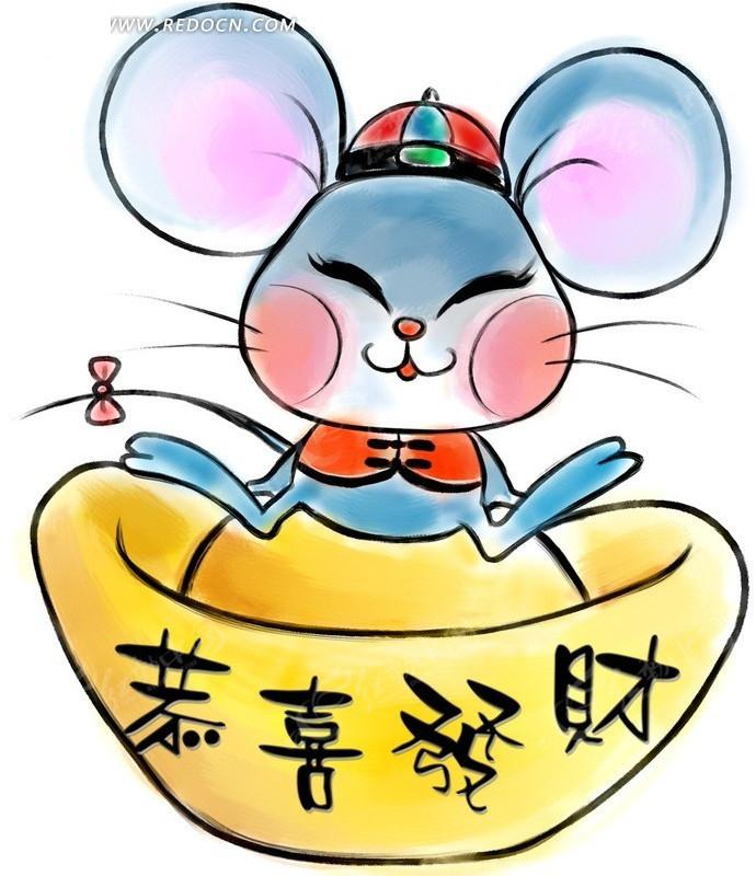 免费素材 psd素材 psd分层素材 动物 鼠年卡通年画  请您分享: 红动网