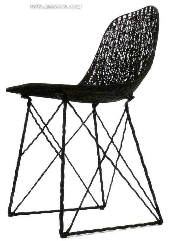铁丝制作的椅子