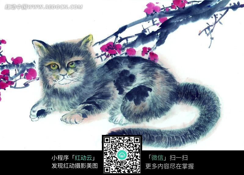 素材描述:红动网提供陆地动物精美素材免费下载,您当前访问素材主题是中国写意动物-卧于梅花下的猫,编号是628291,文件格式JPG,您下载的是一个压缩包文件,请解压后再使用看图软件打开,图片像素是4446*3033像素,素材大小 是4.63 MB。