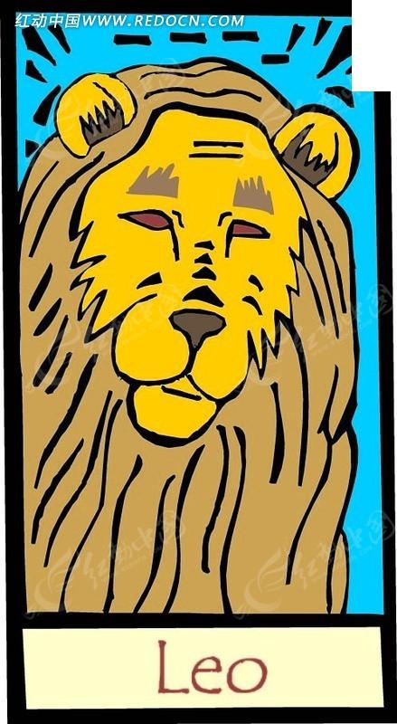 涂鸦十二星座之狮子