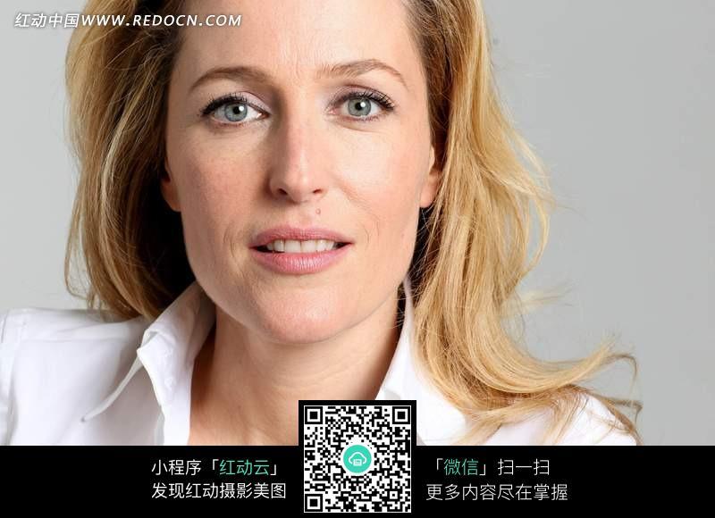 免费素材 图片素材 人物图片 女性女人 外国金发美女面部特写  请您
