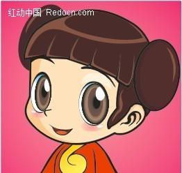 制作可爱的中国娃娃