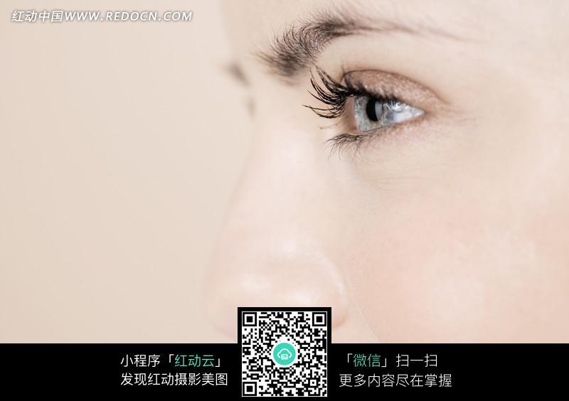 免费素材 图片素材 人物图片 日常生活 美女眼睛细节特写