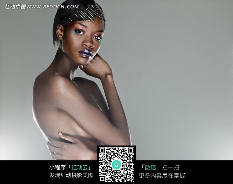 性感黑人美女图片