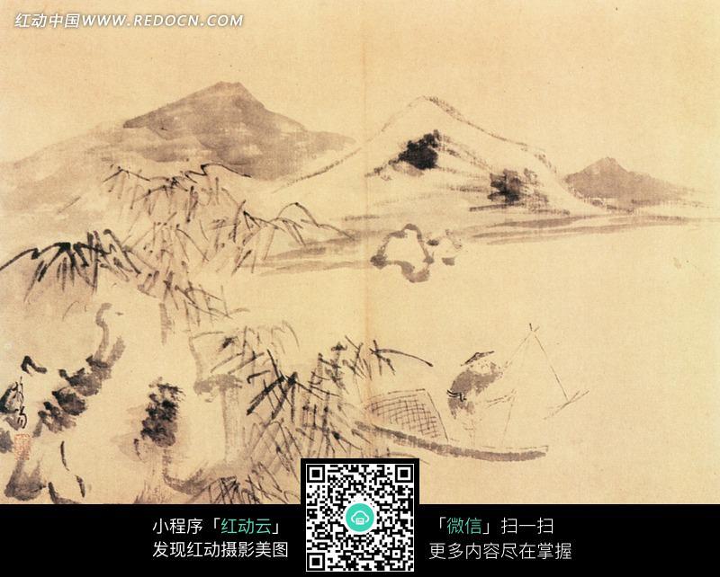 中国古典名画-山水图