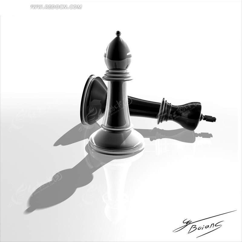国际象棋棋子素材
