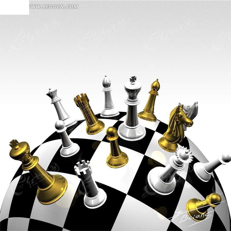 球形棋盘上的国际象棋