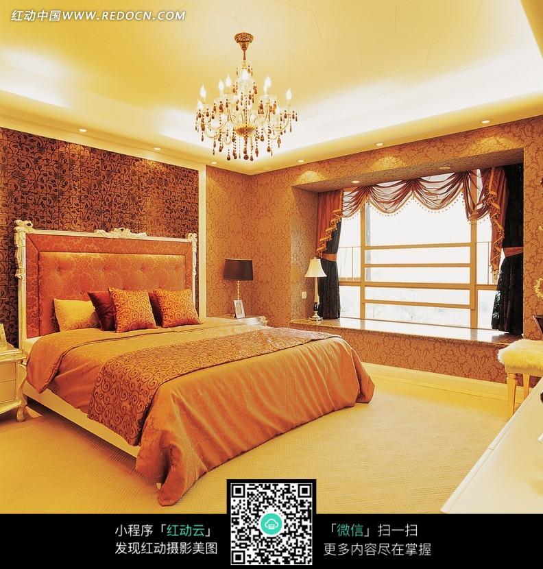 大气简约的欧式卧室效果图图片图片