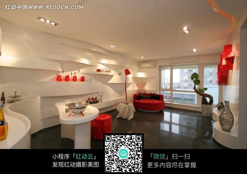 现代简约时尚客厅设计图片