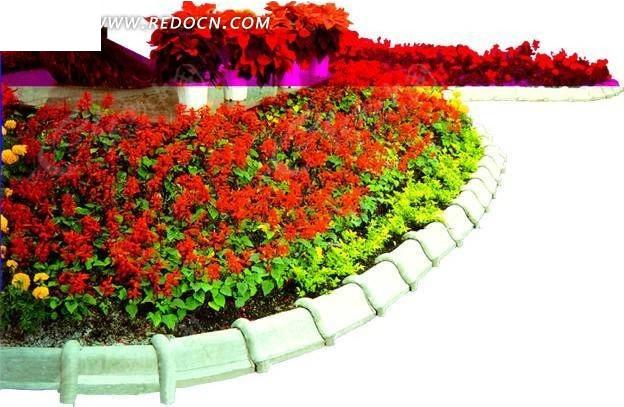 园林花坛设计psd素材