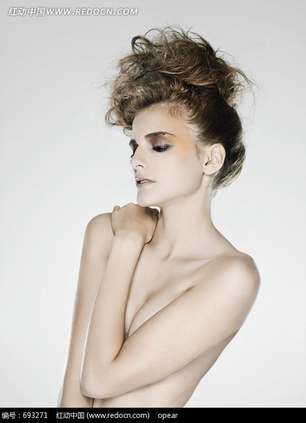裸体性感女模特写真照片图片(编号:693271)_人