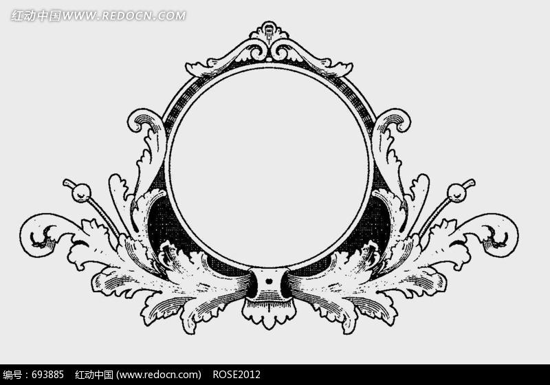 欧式传统装饰花纹图片