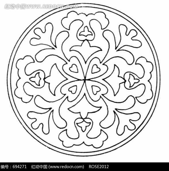 线条圆形花纹图片素材图片免费下载 编号694271 红动网