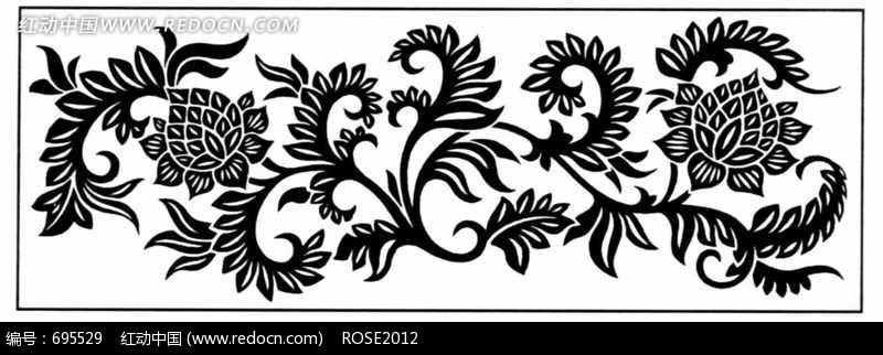 免费素材 图片素材 背景花边 花纹花边 传统装饰图案素材