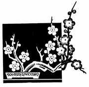 简笔画花图片素材 太阳花黑白图案
