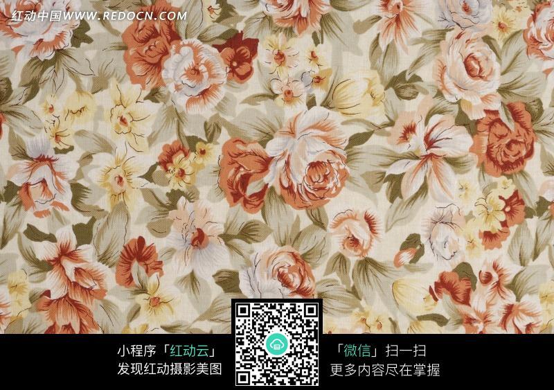 花纹墙纸 壁纸 精美图案 清新图案 花朵图案 图案素材  背景素材 底纹