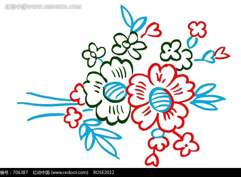 卡通花纹图案图片素材_花纹花边图片