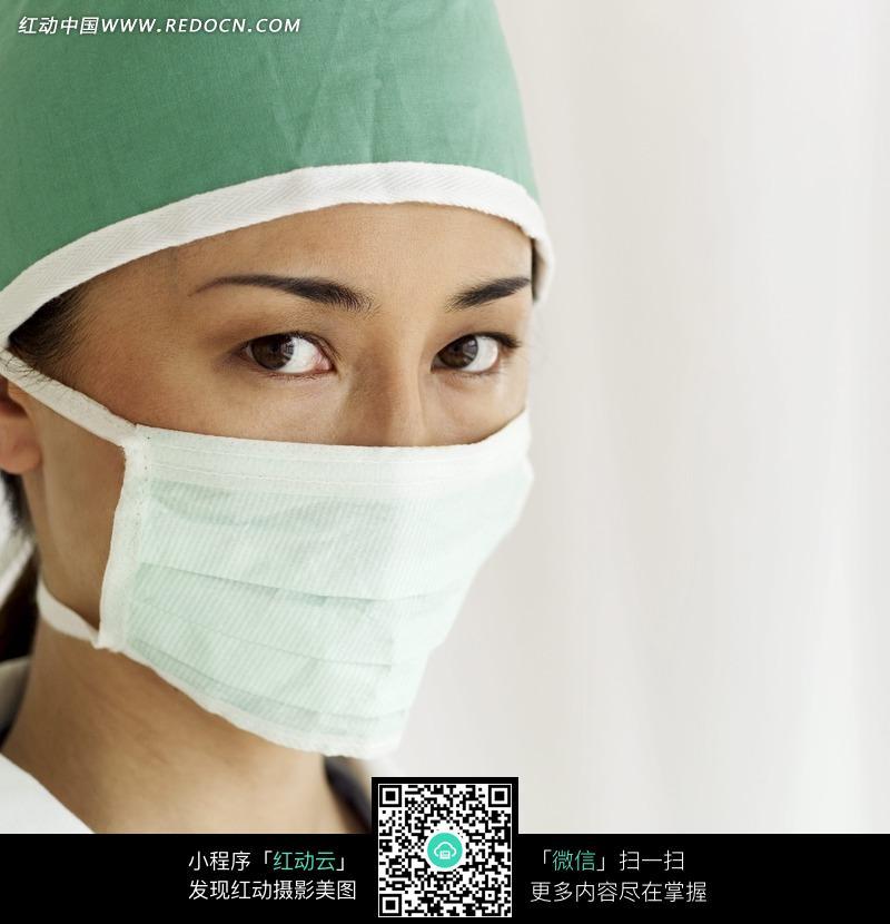 免费素材 图片素材 人物图片 日常生活 戴口罩的女医生