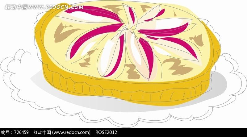 手绘插画美食图片