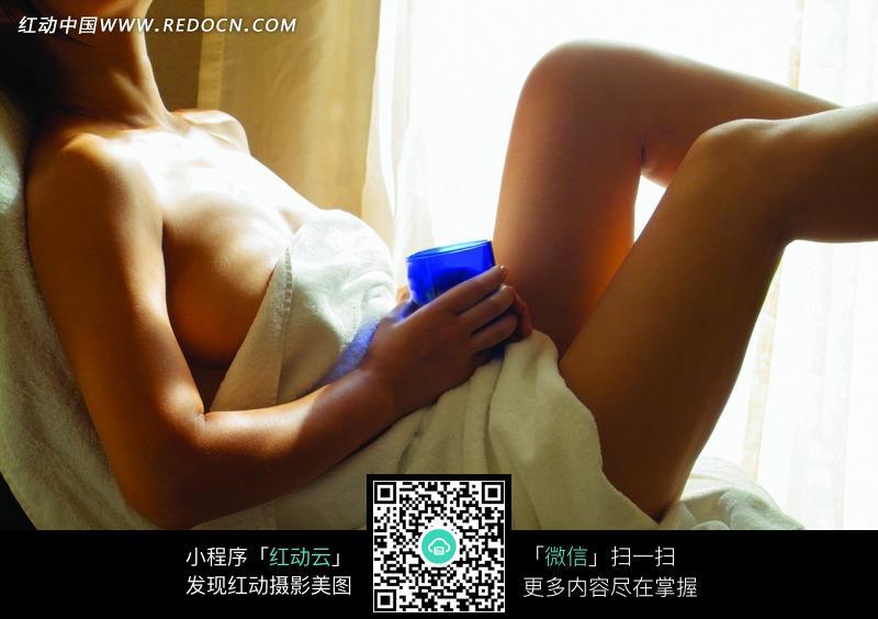女性spa理疗放松图片 人物图片素材 图片库 图