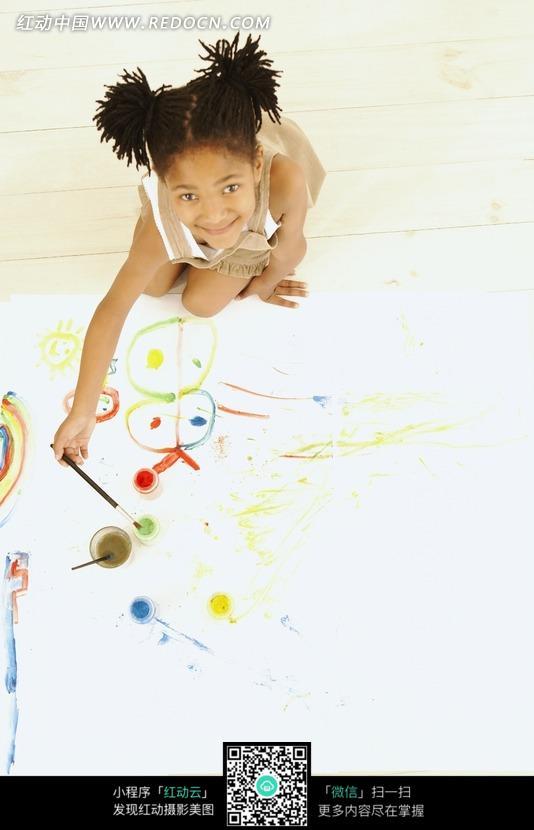 人物画画图片可爱女孩