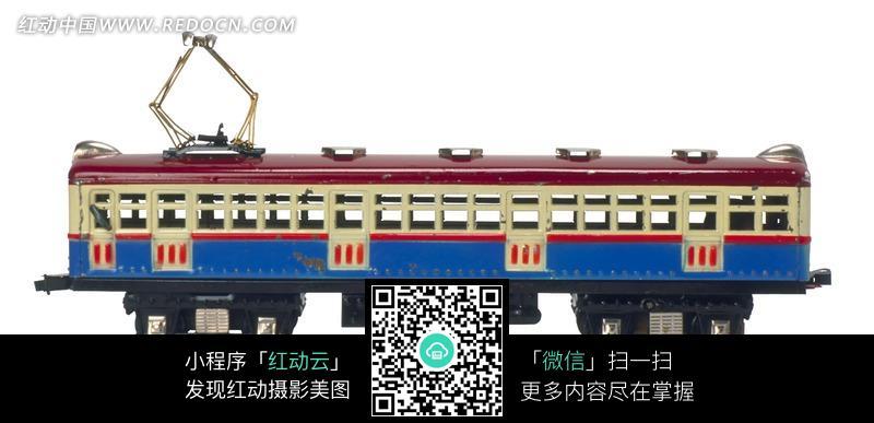 老式电车模型图片