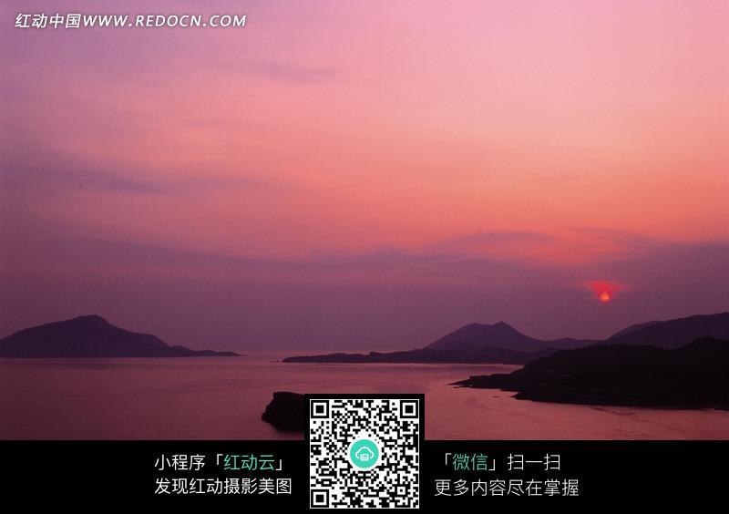 免费素材 图片素材 自然风光 自然风景 黄昏晚景