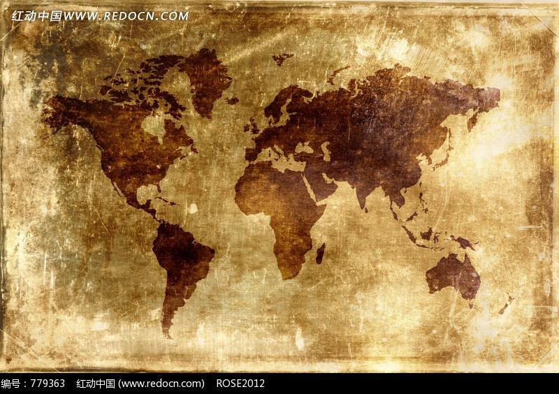 古老地图背景素材