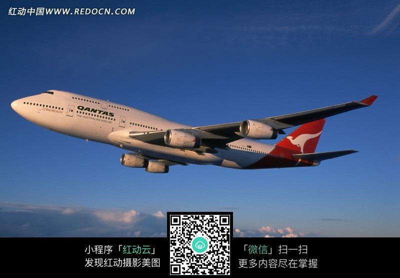 在云上的飞机图片_交通工具图片