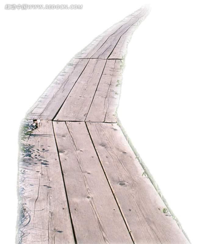 木板路psd分层素材