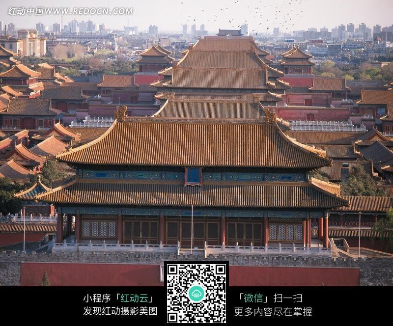 故宫博物馆俯视图图片