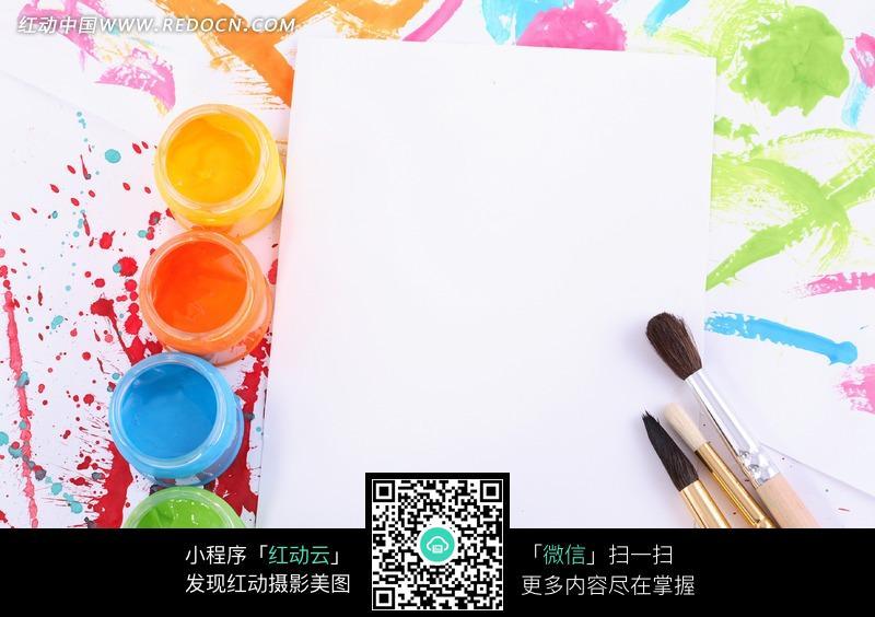 绘画颜料图片免费下载 红动网