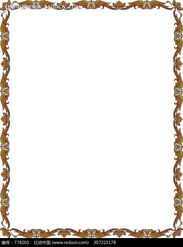 欧式复古边框底纹图片图片