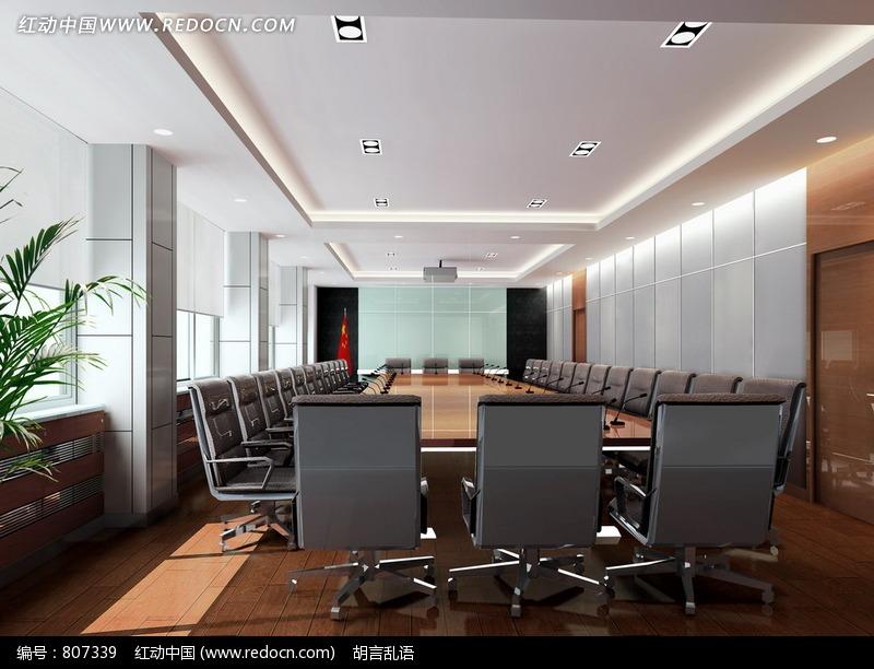 长方形会议室图片图片
