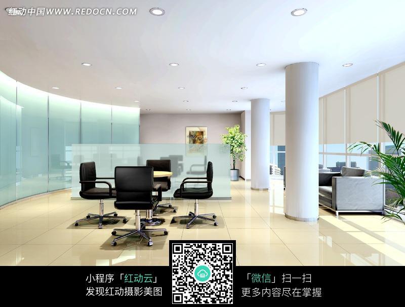 宽敞的休息区_室内设计图片