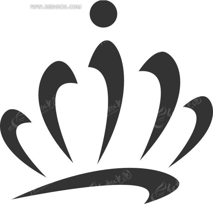 皇冠图案标志设计