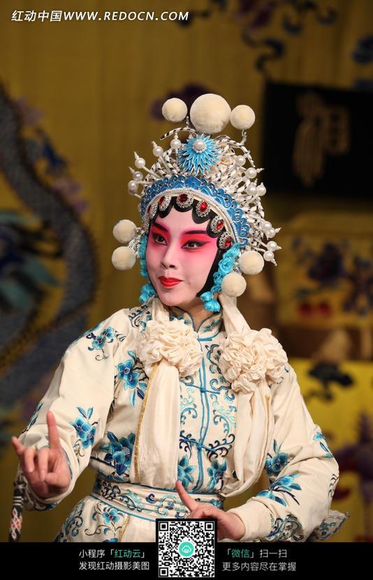 京剧人物 花旦白素贞 戏剧人物 经典戏曲人物 图片素材 摄影素材 人物
